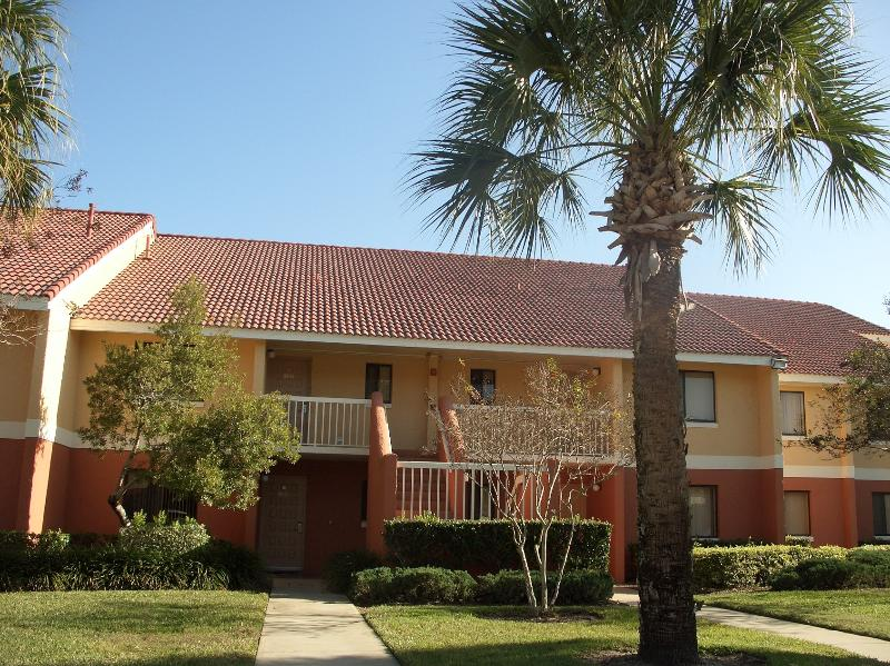 front view from parking spaces - ENJOY A FAMILY CHRISTMAS AND NEW YEAR AT DISNEY - Kissimmee - rentals