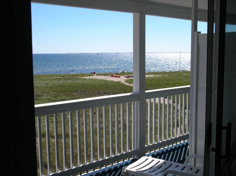 View from the front balcony - Provincetown Resort Oceanfront Efficiency - Provincetown - rentals