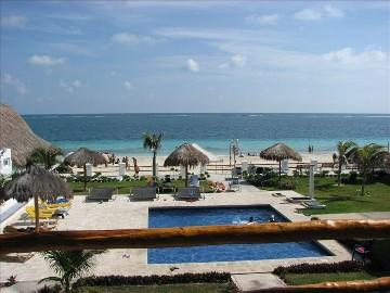 View from above - Best Bargain On the Beach - Puerto Morelos - rentals