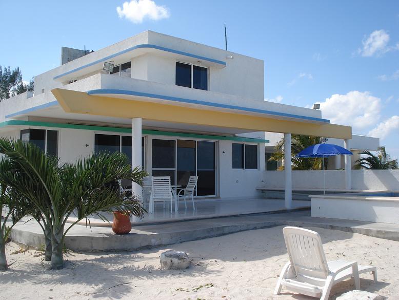 San Bruno Solar Beachfront Casa w/pool - Image 1 - Telchac Puerto - rentals