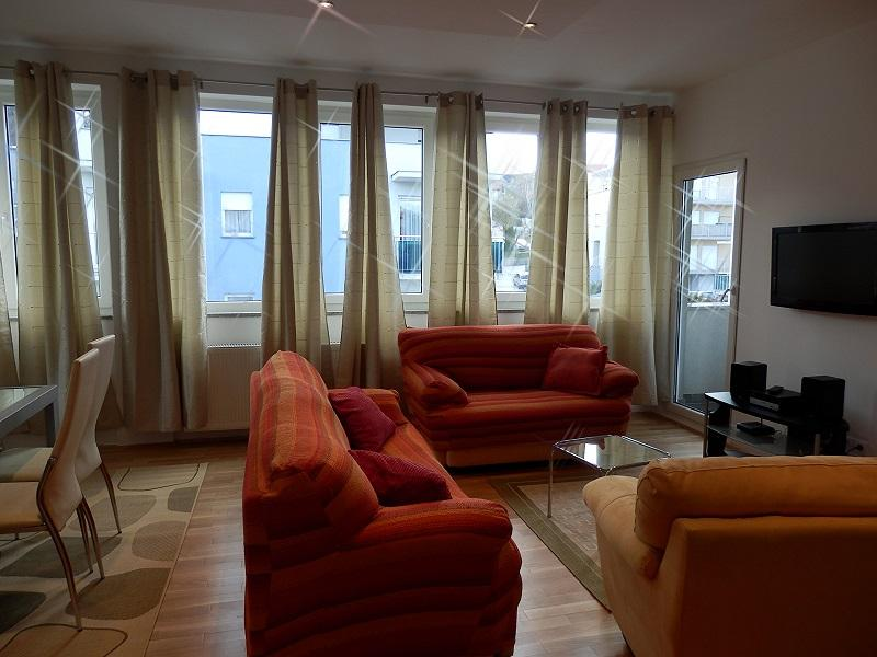 Living room - Penthouse apartment for 8 people - Zagreb - rentals