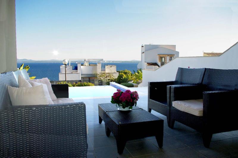 Villa Mirador II: Nice villa with special sea view - Image 1 - Puerto de Alcudia - rentals