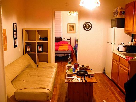 Living Room - #Midtown #5min Away From Times Square Jr.1bed Room - New York City - rentals