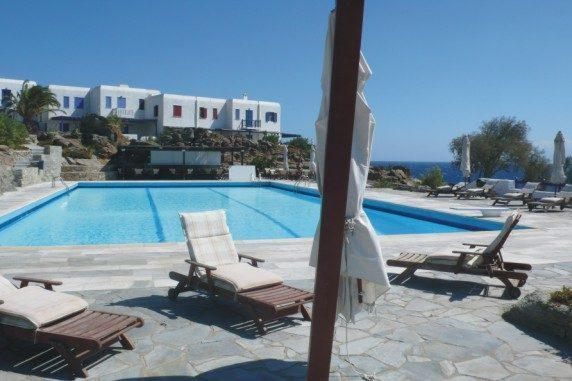 House in a Seaside Resort-Mykonos-2 - Image 1 - Ornos - rentals