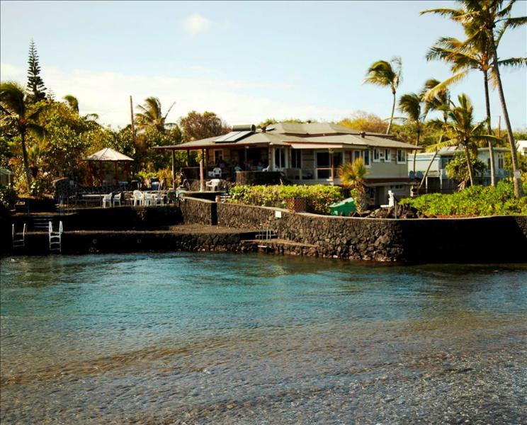 10% OFF Last Min! Kapoho Estate Oceanfront Home with Large Aquatic Private Pond, Swim, Snorkel & Fish from Property! - Image 1 - Kapoho - rentals