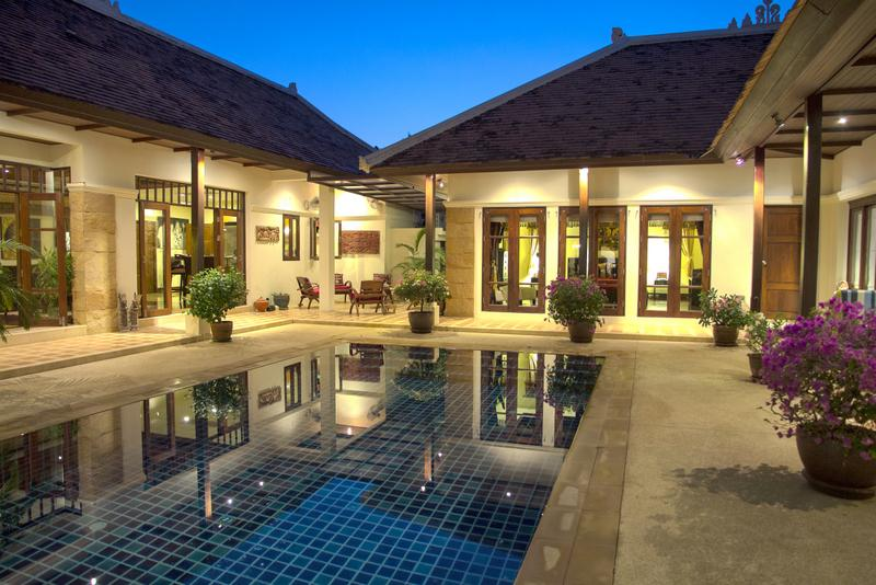 Early evening by the pool - Luxury Pool Villa - Phuket - rentals