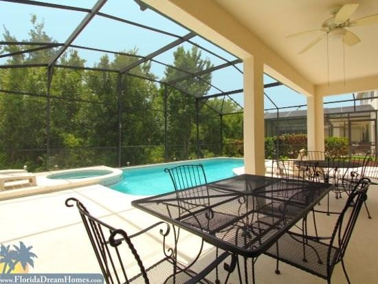 Huge Covered Lanai and Pool Deck with Private Pool and Hot Tub - 80226 - Kissimmee - rentals