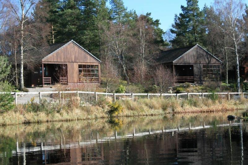 Overlooking the Lochan.....Peace & Tranquility - Tullochwood Loch and Woodland Lodges Type A - Rafford - rentals