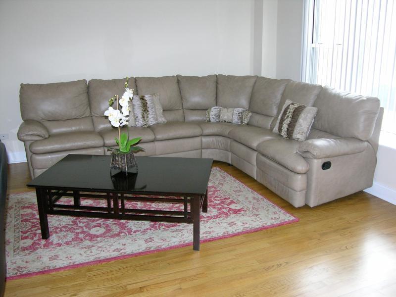 Living room - Entire condo in Chicago 2BR/2BA - Chicago - rentals