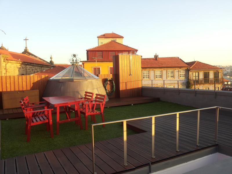Super cool terrace! :) - Studio + Terrace @ Historic Centre! - Porto - rentals