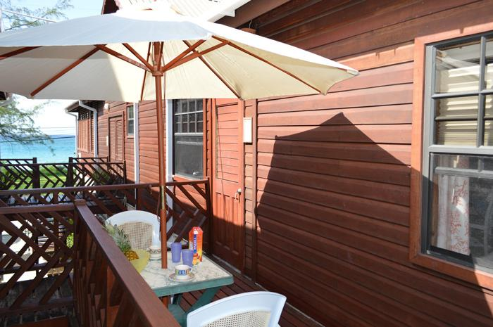 Yellow Bird Apartment - The deck by day - Yellow Bird Apartment - 70 Mt. from the sea !! - Silver Sands - rentals