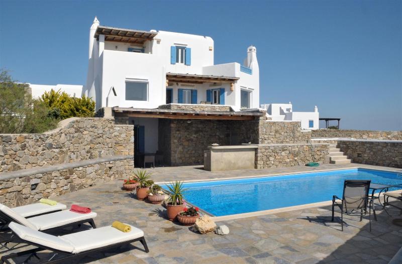Villa Di Christina - Private Pool and amazing views to the Aegean Sea - Image 1 - Mykonos - rentals