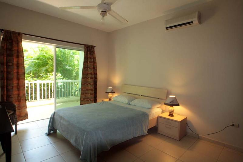 master bedroom - Spacy ground floor apartment  50 from the beach - Cabarete - rentals
