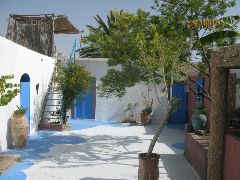 Riad Courtyard Garden - Mountain Coastal Riad. Taghazout Morocco. Room 1 - Morocco - rentals