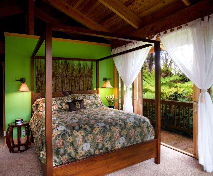 "Nahelelani "" Heavenly Forest "" studio - Luxury studio near Hawaii Volcanoes National Park - Volcano - rentals"
