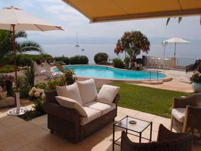 terrace and pool-view over the sea - Luxury villa & pool for 6 Gulf of Ajaccio Corsica - Ajaccio - rentals