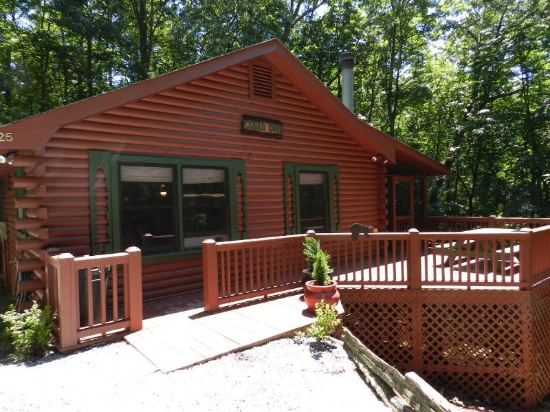 Cedar Cove - Mountain Dream: Full log home - Cherry Log - rentals
