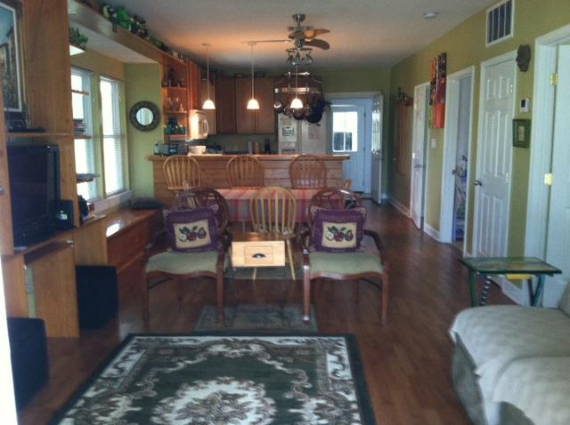 main room - Creole Cottage: safe, convenient - New Orleans - rentals
