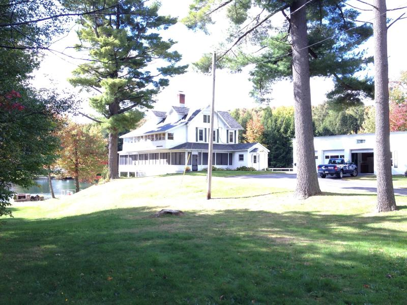 CobbleCrest view from road - Historic  Lake Home  on Star Lake Adirondack's NY - Star Lake - rentals