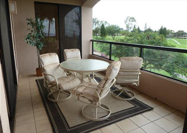Lanai - Waikoloa Fairways 2 Bedroom Beauty with Ocean and Golf Course Views-WF A203 - Waikoloa - rentals