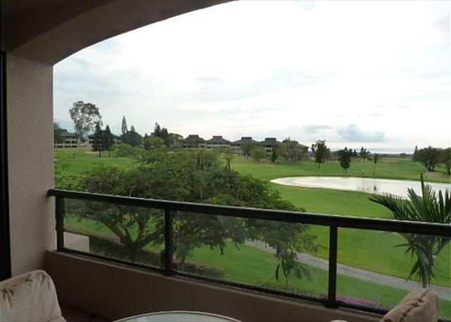 Lanai View of Ocean and Golf Course - Waikoloa Fairways 2 Bedroom Beauty with Ocean and Golf Course Views - Kohala Coast - rentals