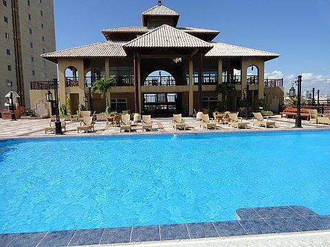 pool at 12th floor - RentSantoDomingo  holidays/job furnished  22 floor - Santo Domingo - rentals