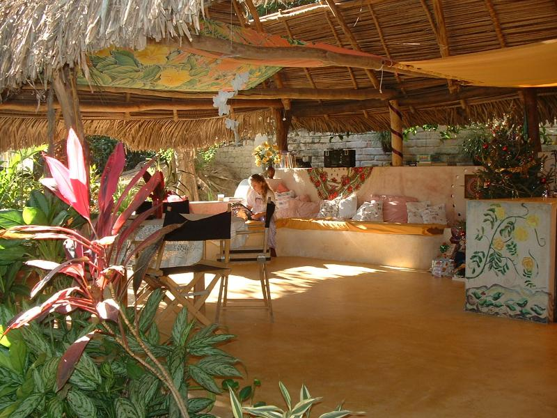 Spacious Living Room/Kitchen - Tranquil Hideaway Above the Bay - Yelapa - rentals