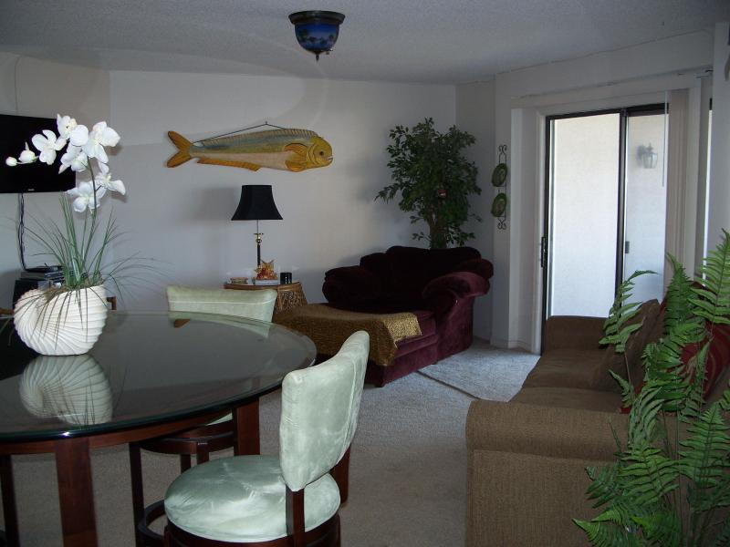 Living Room Area - Boater's & Beachgoer's Delight - Panama City Beach - rentals
