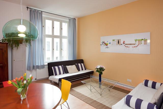 Living room - Urban Apartment in Central Berlin - Berlin - rentals