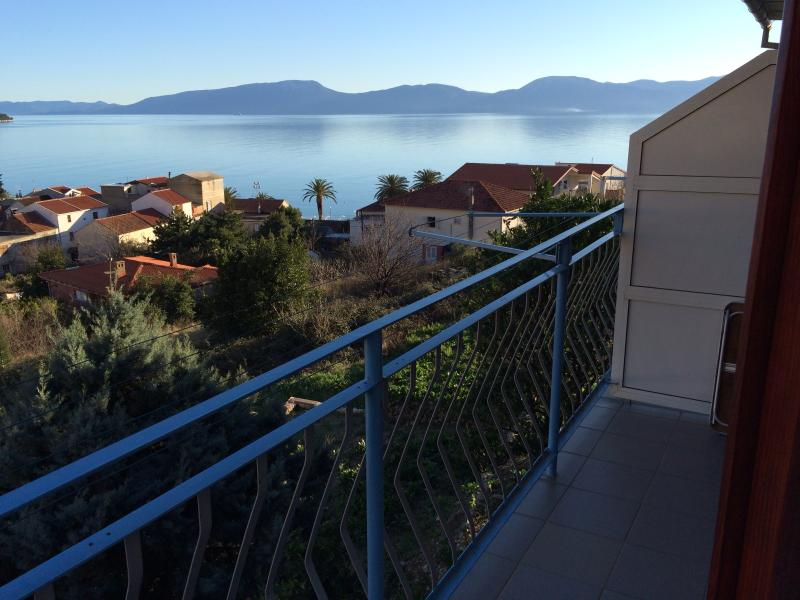 Balcony - Apartment Nikolic,Gradac(2+1) - Gradac - rentals