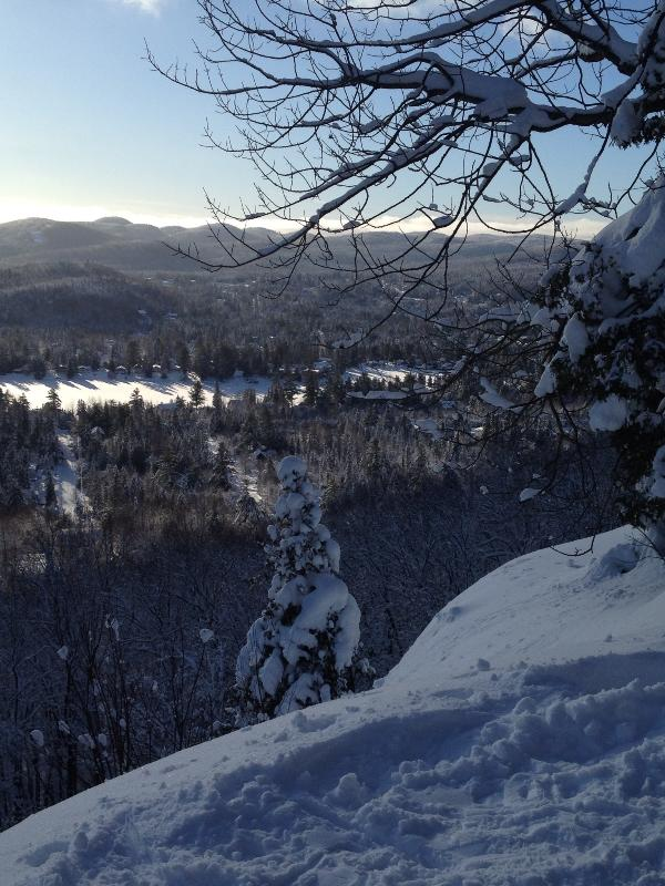 From Mt Condor - Laurentian Chalet - Val David - rentals