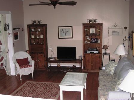 Living Room 1 - Bayside Large Garden Unit A - Siesta Key - rentals