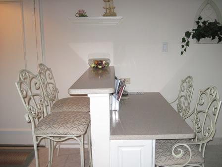 Breakfast bar and desk - Gulf Mid-Rise Unit 106D - Siesta Key - rentals