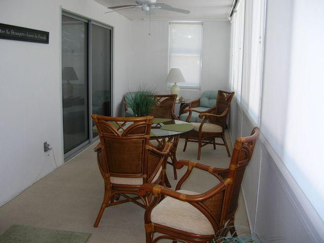 Lanai - Gulfside Mid-Rise Unit 205D - Siesta Key - rentals