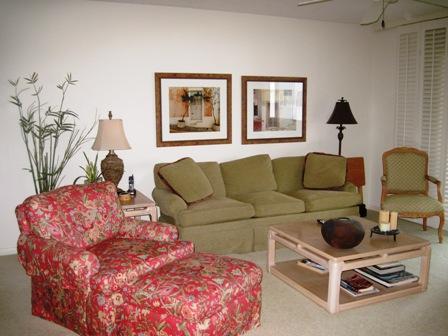 Living Room - Gulfside Mid-Rise Unit 503D - Sarasota - rentals