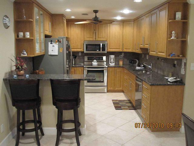 Kitchen Area - Gulfside Mid-Rise Unit 702D - Siesta Key - rentals