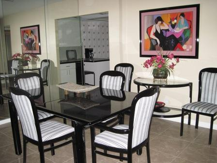 Dining Area - Gulfside Mid-Rise Unit 706D - Siesta Key - rentals