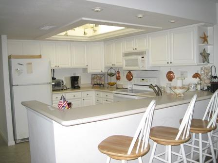 Kitchen - Gulfside Mid-Rise Unit 603E - Siesta Key - rentals