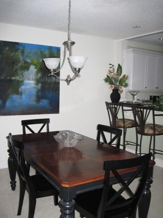 Dining Room - Bayside Mid-Rise Unit 305A - Sarasota - rentals