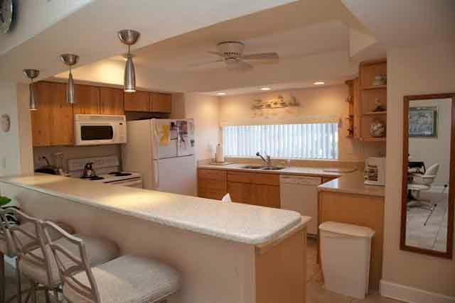 Kitchen - Small Gulfside Garden Unit A - Sarasota - rentals
