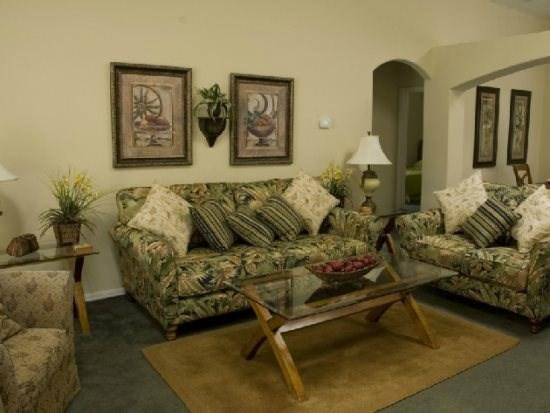 Living Room - OT5P15935HHS 5 Elegant Pool Home For Rent With Video Games - Orlando - rentals