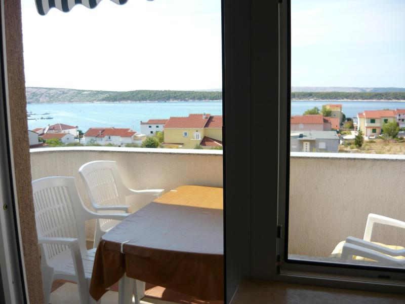 See view - Jadro Croatia island Rab ****  air-conditioned apartment - Rab - rentals