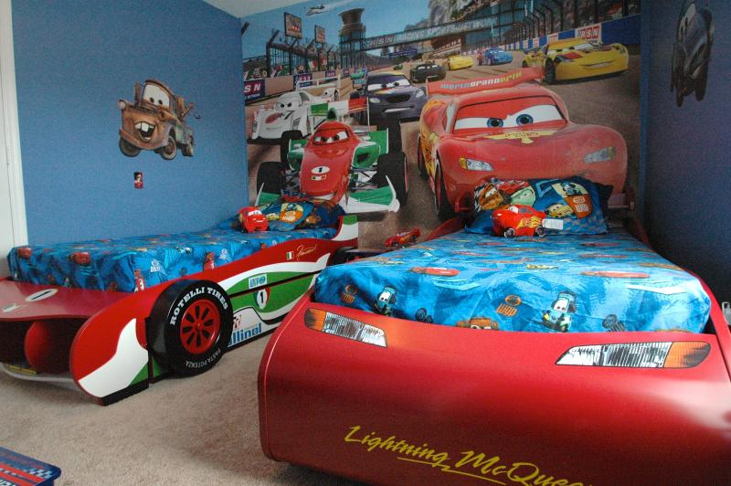 Cars Themed twin guest room - DisOasis Villa at Windsor Palms Resort - Kissimmee - rentals