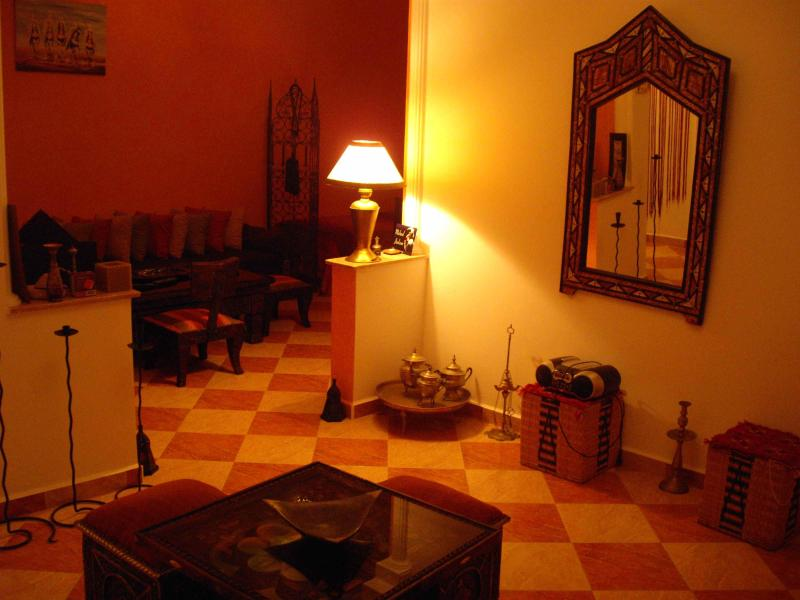 Salon marocain - Beautiful appart, morrocan design close to the beach - Essaouira - rentals
