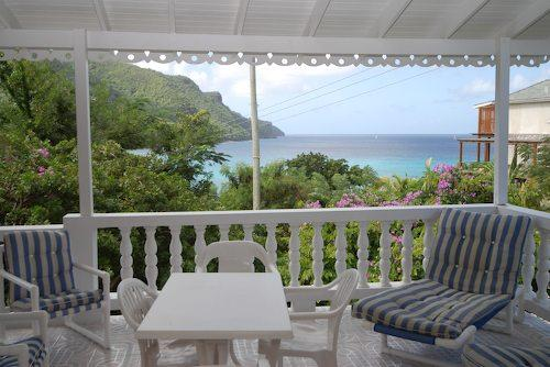 Twilight Cottage, lounge chairs and Alfresco seating - Twilight Cottage - Bequia - rentals