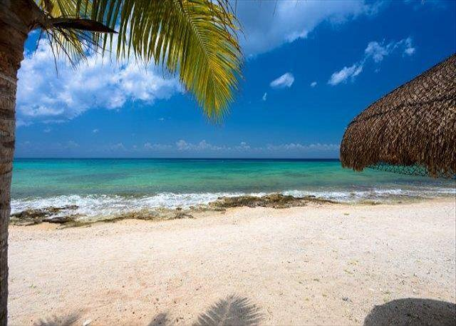 Uvas beach across the road - Las Uvas II Brand New Three bedroom in Paradise! - Cozumel - rentals