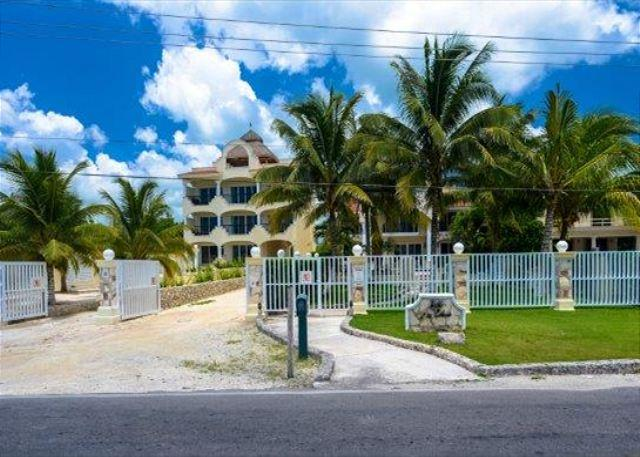 Gated Entrance from the road - Las Uvas II:  One bedroom in Paradise! - Cozumel - rentals