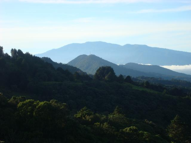 Views from Ranch- Irazu Volcano - Highlander Pointe Barva Volcano Chalet - Braulio Carrillo National Park - rentals