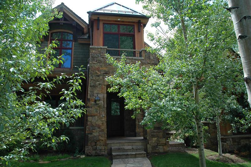Front entry - Luxury in the West End - Aspen - rentals