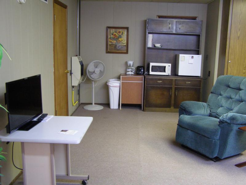 Suite Kitchenette Area - Suite in rural Kansas town for a peaceful stay! - Ellsworth - rentals